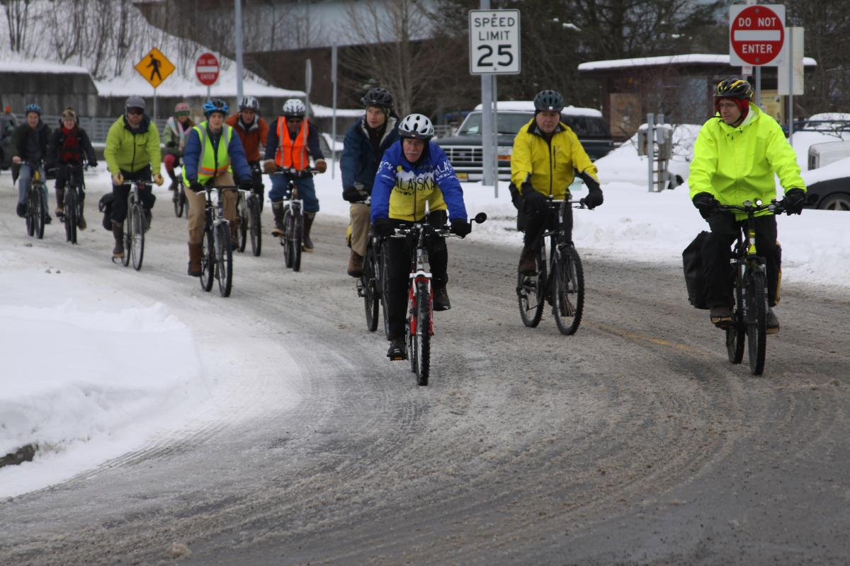 Winter Cycling Celebration