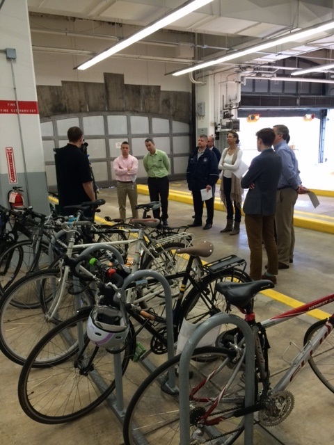 Rayburn HOB maintenance class / bike parking
