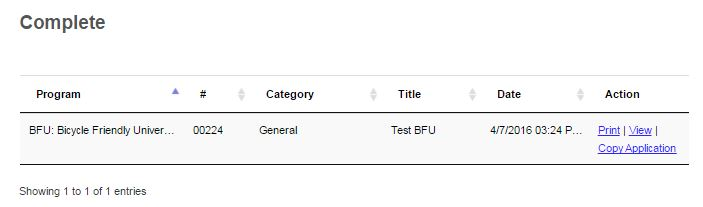 BFU Application Preview: Copy Application feature