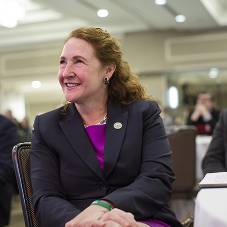 Representative Elizabeth Esty at National Bike Summit