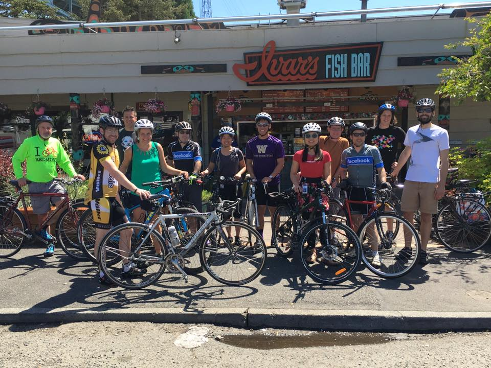 Facebook Seattle Bike to Lunch Ride