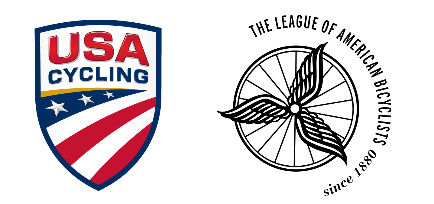 USA Cycling League of American Bicyclists logos
